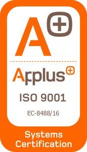 Sello Certificación de Calidad ISO 9001 Siete Estrellas