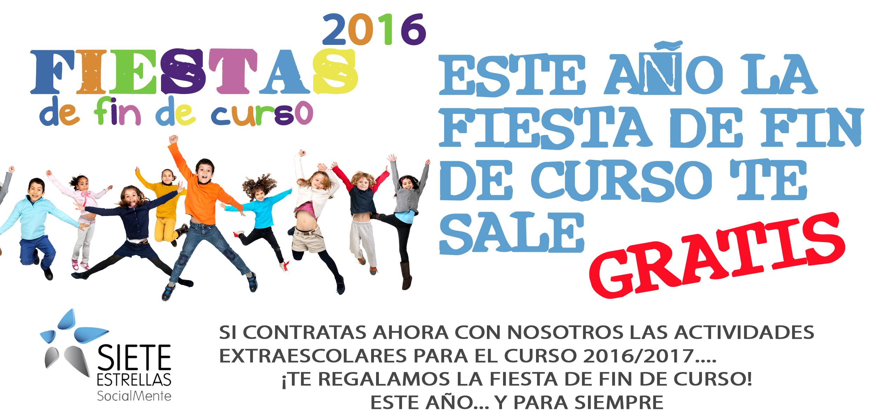 Fiestas de fin de curso 2016 for Curso de interiorismo gratis