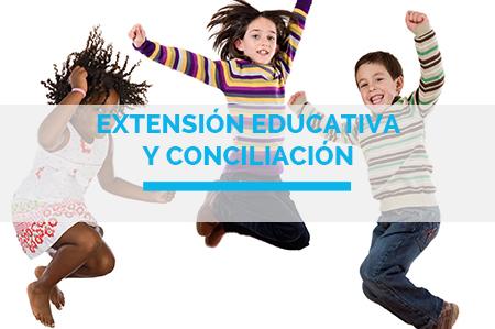 EXTENSIÓN EDUCATIVA  Y CONCILIACIÓN