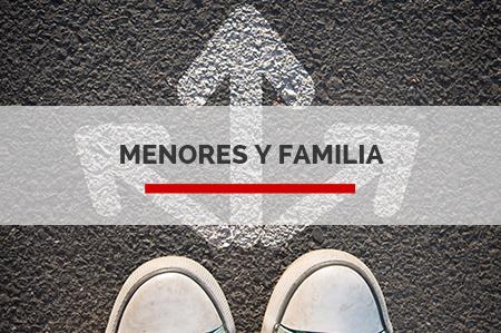 MENORES Y FAMILIA