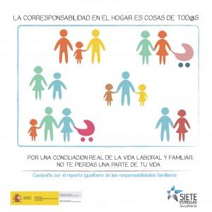 Campaña de Corresponsabilidad del Plan de Igualdad de Oportunidades